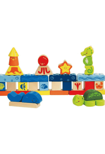 Wooden Blocks Under the Sea