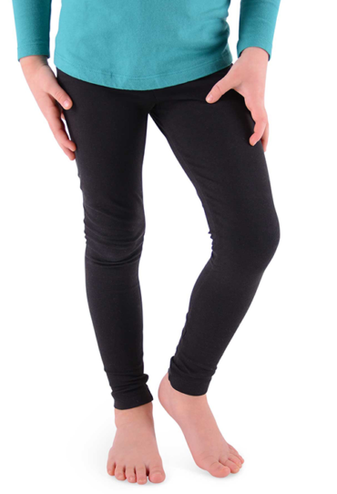 Organic Girls Leggings Black