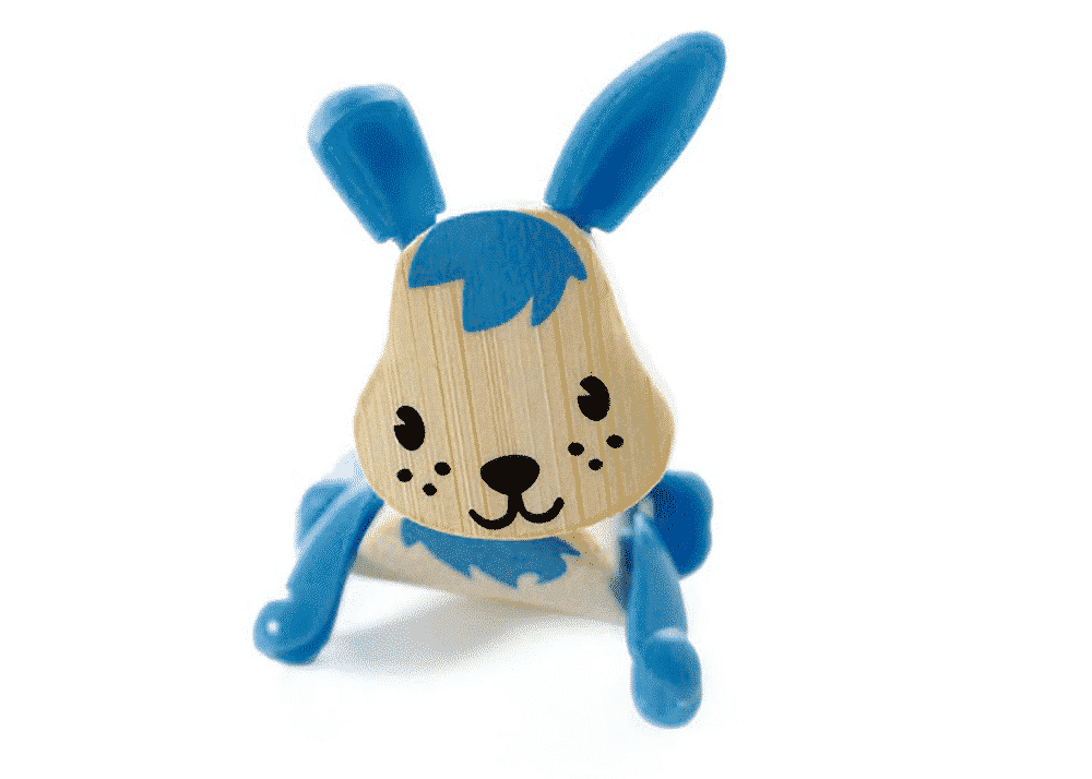 Wooden Toy Rabbit