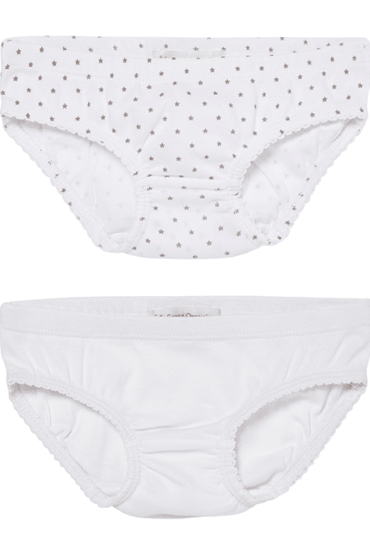 Organic Girls Slips White