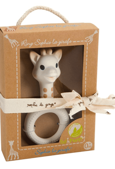 Organic Sophie La Girafe Teething Ring