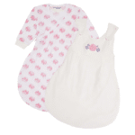 Organic Baby Sleeping Bag with Roses