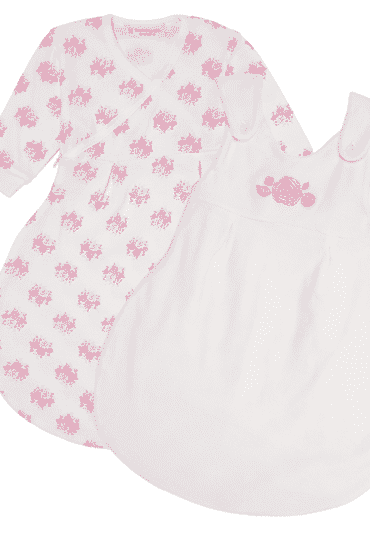 Organic Baby Sleeping Bag Saba Roses
