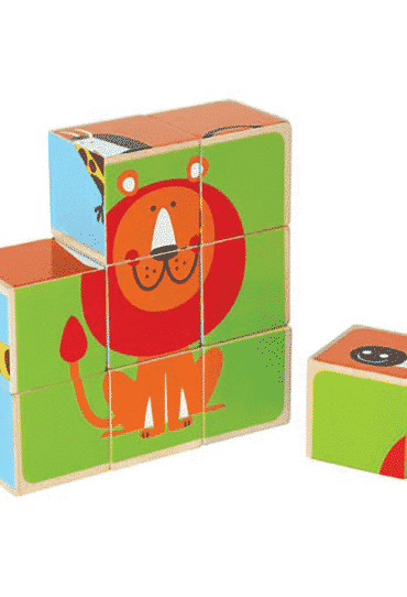 Wooden Blocks Puzzle Zoo