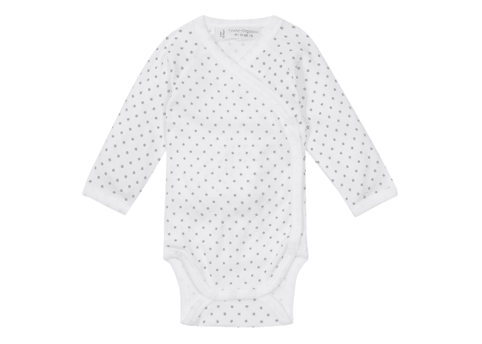 Organic Baby Bodysuit with Stars