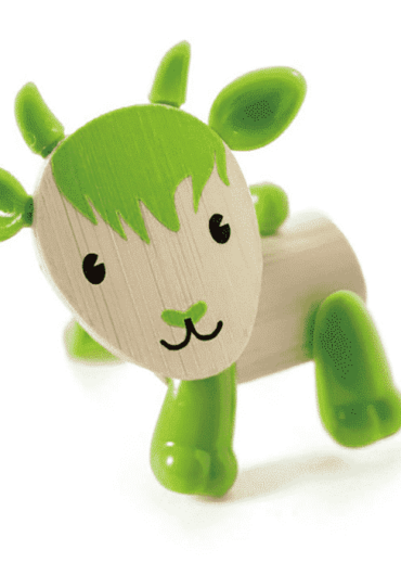 Wooden Toy Goat