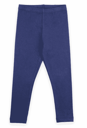 Organic Leggings Blue