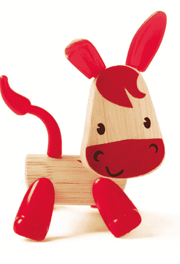 Wooden Toy Donkey