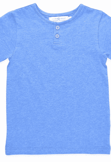 Boys Organic Shirt Blue