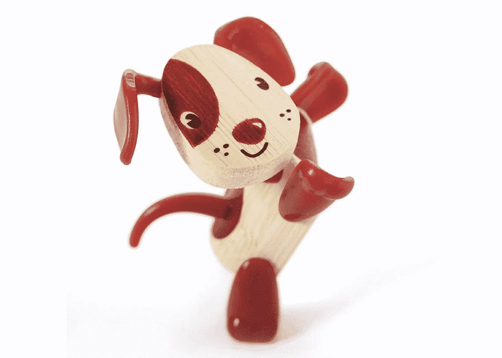 Wooden Toy Dog