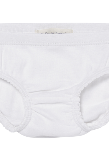Organic Girls Slip White
