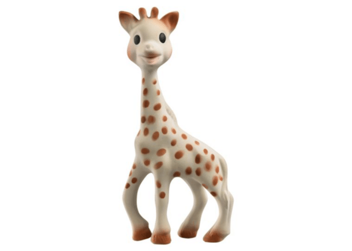 Organic Sophie la Girafe Set Natural Soother with Sophie