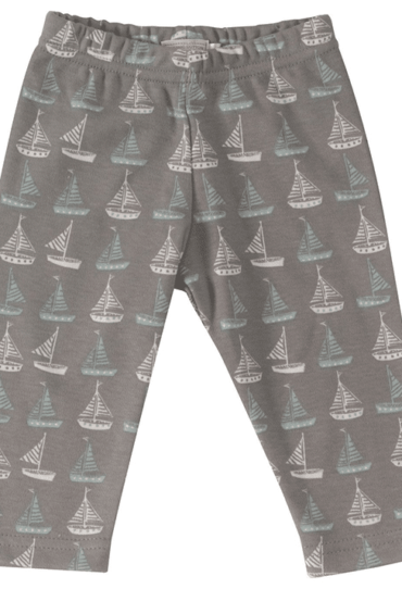 Organic Baby Pant with Boats