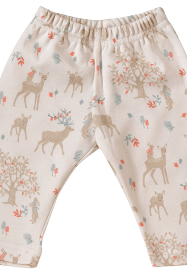 Organic Baby Pant with Deers