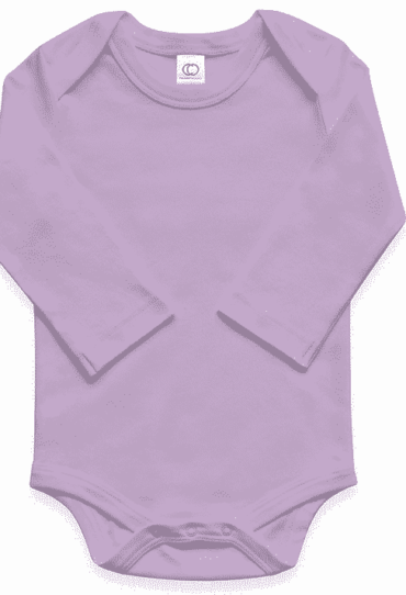 Basic Bodysuit long sleeve Lila