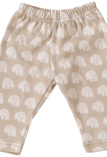 Organic Baby Pant with Ice Bears