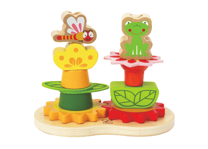 Wooden Toy Stucking Flowers