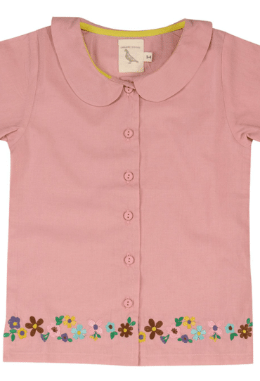 Girls Summer Shirt Pink