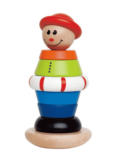 Wooden Toy Stucking Jack