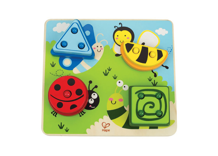 Wooden Toy Logical Puzzle Insects
