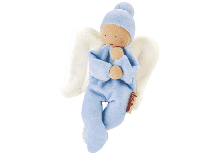 Organic Soft Toy Nickybaby Blue