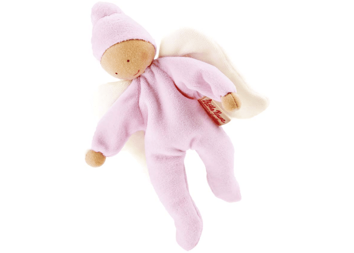 Organic Soft Toy Nickybaby Rose