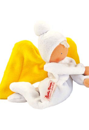 Organic Soft Toy Nickybaby White