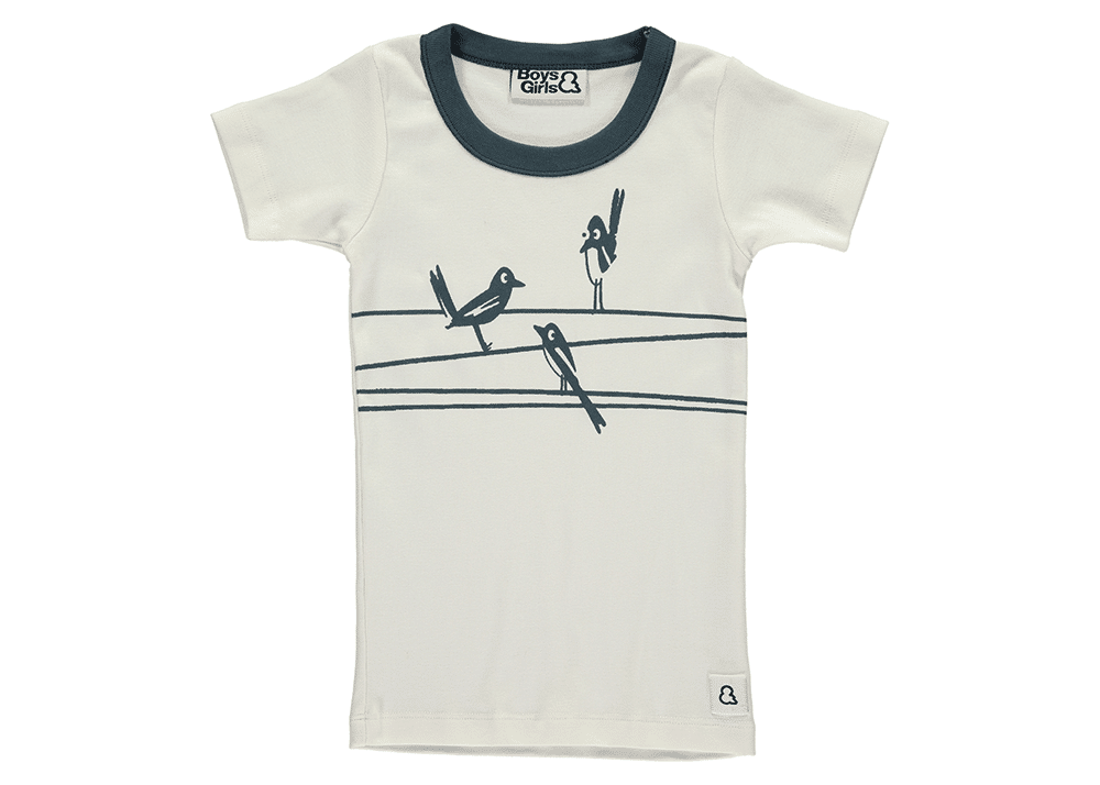 On The Wires Tee