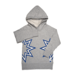 starburst over-sized hoody
