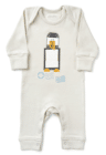 Retro Penguin Romper