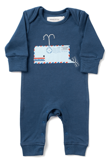 1. Whale Baby Romper